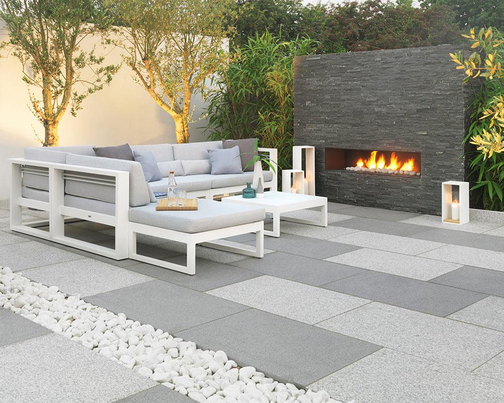 Arctic Granite Textured Garden Paving Stonemarket