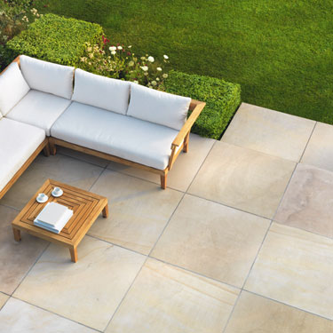 View Avant-Garde Natural Stone Garden Paving lifestyle image 3