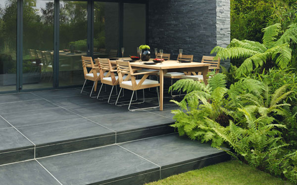 ... Avant Garde Natural Stone Garden Paving