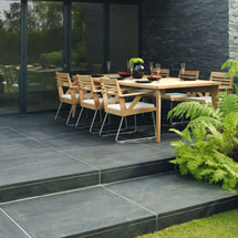 View Avant-Garde Natural Stone Garden Paving lifestyle image 4