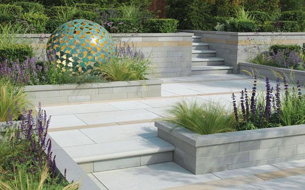 Avant-Garde Natural Stone Garden Walling