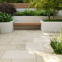 View Beachside Natural Stone Paving lifestyle image 1