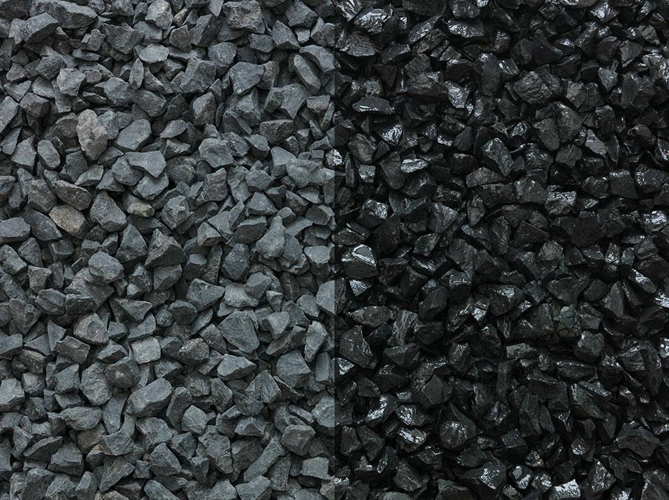 Black Decorative Stone : Cinder black decorative aggregate stonemarket