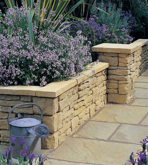 Charming Cotstone Walling