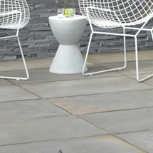 View Dorian Natural Limestone Garden Paving lifestyle image 1