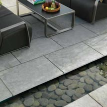 View Dorian Natural Limestone Garden Paving lifestyle image 3