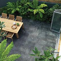 View Equinox Quartzite Garden Paving lifestyle image 3