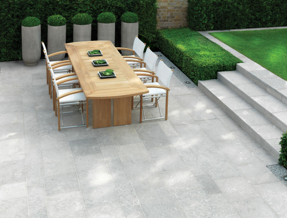 Captivating Ingleston Indigenous Stone Garden Paving