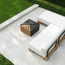 View Lorento Marble Garden Paving lifestyle image 1
