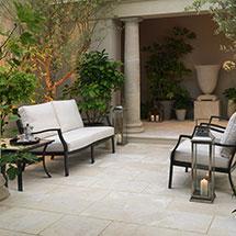 View Lorento Marble Garden Paving lifestyle image 5