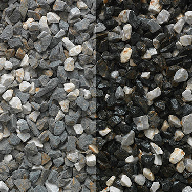 Lunar Grey Decorative Chippings