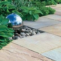 View Marketstone Radius Garden Paving Circle lifestyle image 3