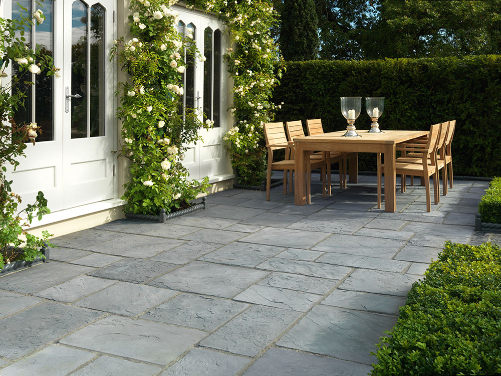 Next generation millstone nextpave garden paving stonemarket for Paving ideas for small courtyards