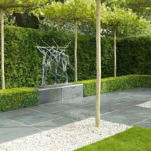 View Nordus Natural Slate Garden Paving lifestyle image 1