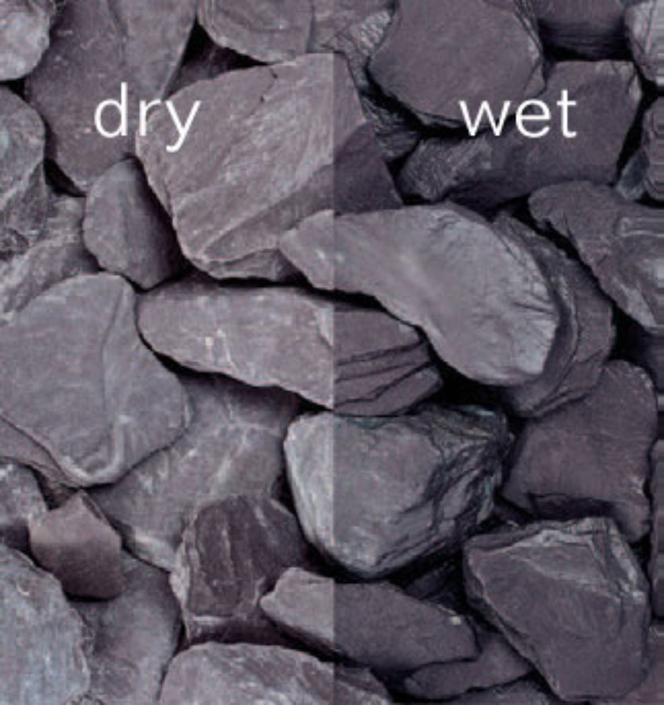Plum Slate Decorative Chippings 20 40mm