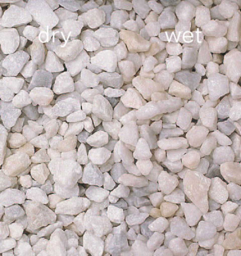 Spanish White Decorative Chippings Stonemarket