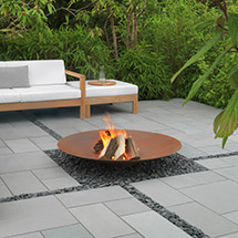 View Sundara Limestone Garden Paving lifestyle image 1