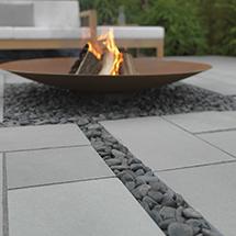View Sundara Limestone Garden Paving lifestyle image 2
