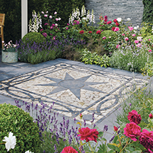 View Truslate Star Circle and Border Paving Features lifestyle image 1