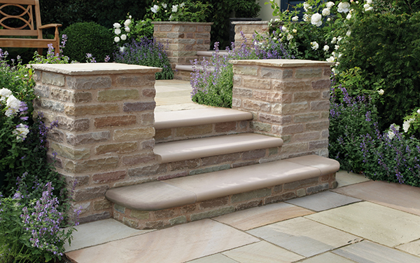 Trustone Glenmoor Riven Stone Garden Paving