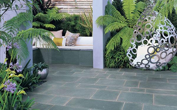 Trustone Linear Sandstone Garden Paving