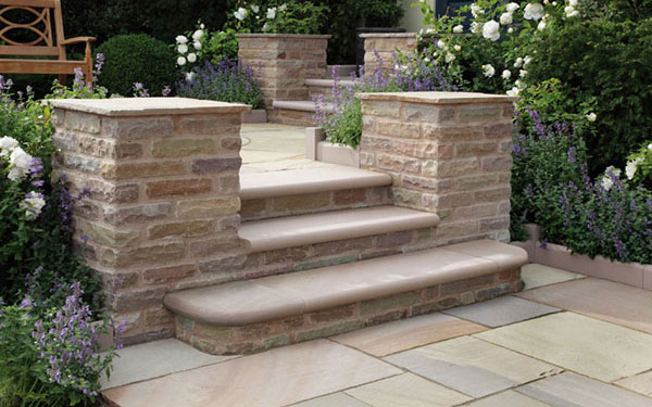Trustone Steps and Edgings