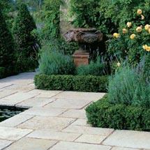 View Vintage Limestone Garden Paving lifestyle image 1