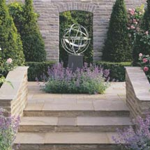 Vintage Stone Garden Walling