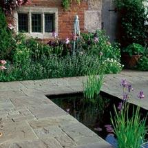 View Vintage Stone Raven Garden Paving lifestyle image 1