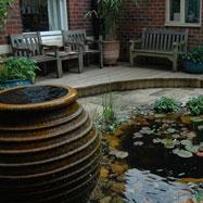 Urn in Wildlife Courtyard