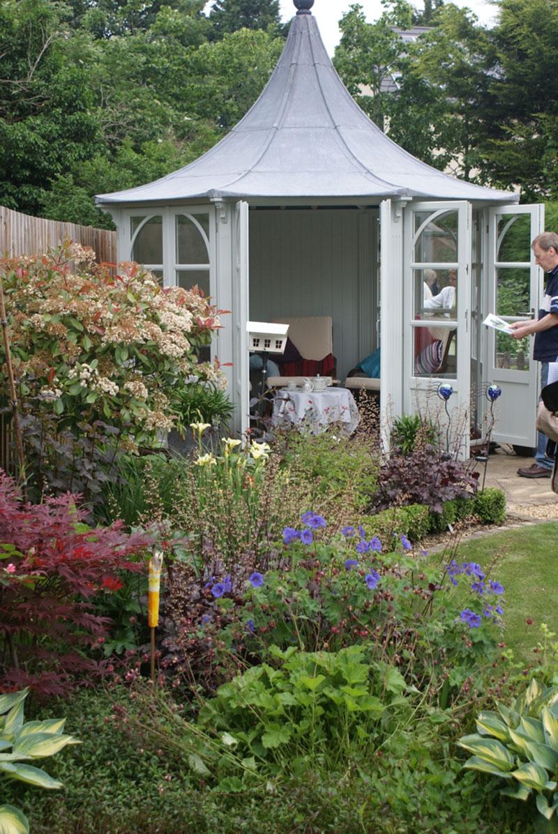 ian farbon garden design in huntingdon garden design
