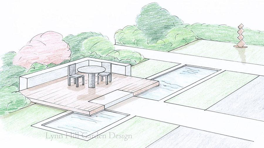 Garden Design Examples lynn hill garden design in bonnyrigg   garden design