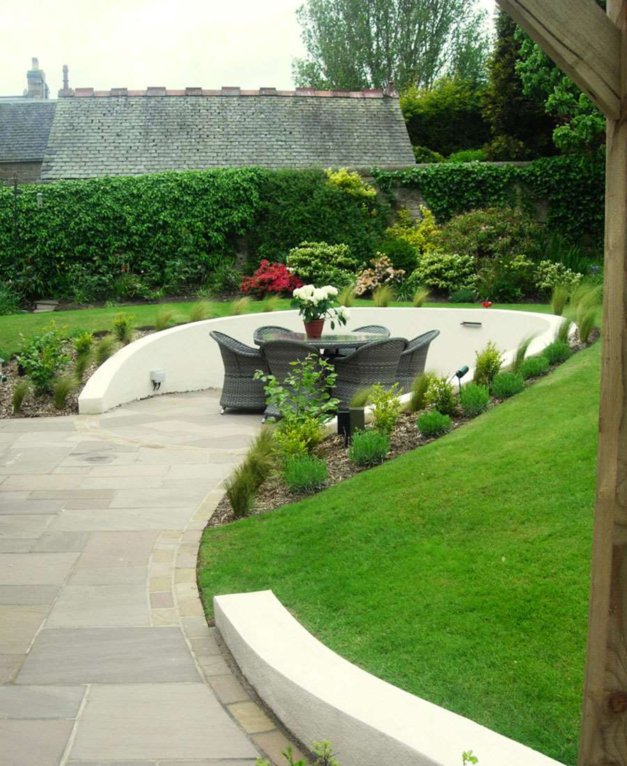 Motif Garden Design in Edinburgh Garden Design