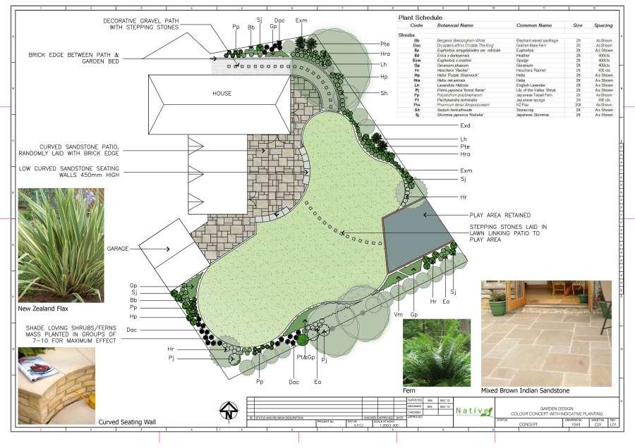 Native Landscape Design In Neston Garden Design