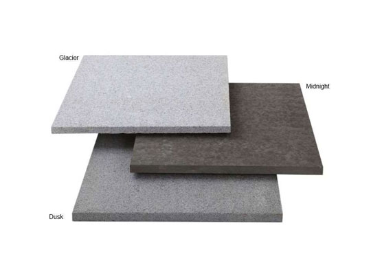 Arctic Granite Textured Garden Paving Colours