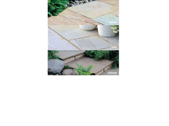 Marketstone Radius Garden Paving Circle Colours
