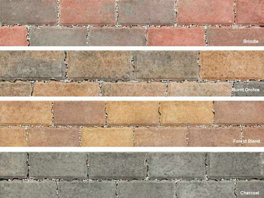 Permeapave Permable Driveway Block Paving Colours