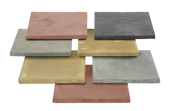 Ryton Utility Riven Garden Paving Colours