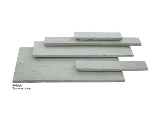 Trustone Linear Sandstone Garden Paving Colours