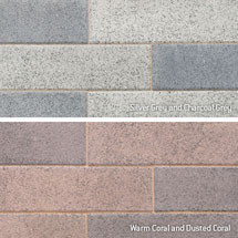 View Vecta Lightly Textured Driveway Block Paving Colours image