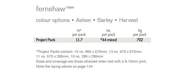 Fernshaw Specification